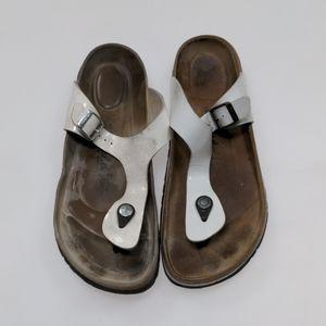 Betula White Sandals Size 42